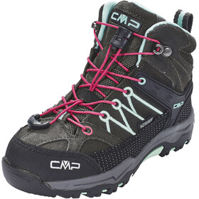 CMP Campagnolo Kids Rigel Mid WP Trekking Shoes Arabica-Sky Light